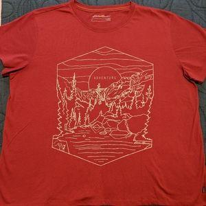 Eddie Bauer Adventure T-shirt Women's XXL